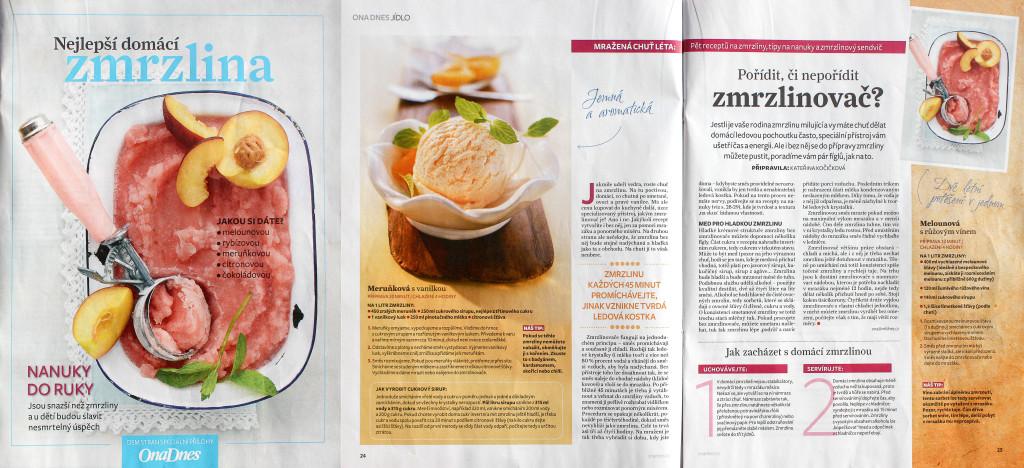 Zmrzlinové recepty od tří kopečků v OnaDNES